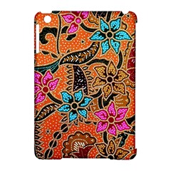 Colorful The Beautiful Of Art Indonesian Batik Pattern(1) Apple Ipad Mini Hardshell Case (compatible With Smart Cover) by BangZart