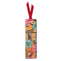 Colorful The Beautiful Of Art Indonesian Batik Pattern(1) Small Book Marks by BangZart