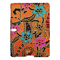 Colorful The Beautiful Of Art Indonesian Batik Pattern(1) Samsung Galaxy Tab S (10 5 ) Hardshell Case  by BangZart