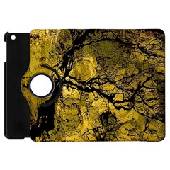 Colorful The Beautiful Of Traditional Art Indonesian Batik Pattern Apple Ipad Mini Flip 360 Case by BangZart