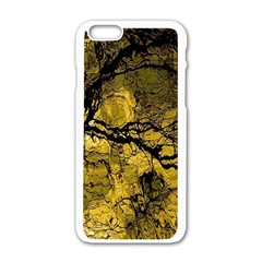 Colorful The Beautiful Of Traditional Art Indonesian Batik Pattern Apple Iphone 6/6s White Enamel Case by BangZart