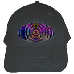 Color In The Round Black Cap by BangZart