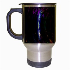 Color In The Round Travel Mug (silver Gray) by BangZart