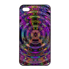 Color In The Round Apple Iphone 4/4s Seamless Case (black) by BangZart