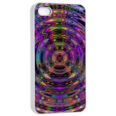 Color In The Round Apple Iphone 4/4s Seamless Case (white) by BangZart