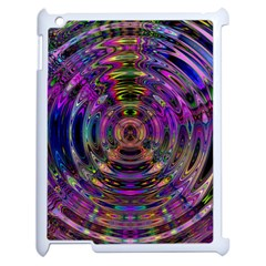 Color In The Round Apple Ipad 2 Case (white) by BangZart