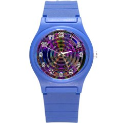Color In The Round Round Plastic Sport Watch (s) by BangZart