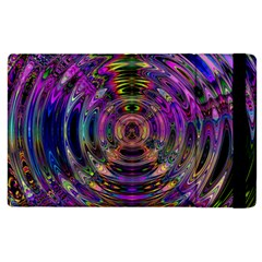 Color In The Round Apple Ipad 3/4 Flip Case by BangZart