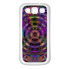 Color In The Round Samsung Galaxy S3 Back Case (white) by BangZart