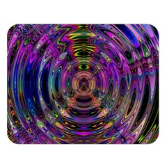 Color In The Round Double Sided Flano Blanket (large)  by BangZart