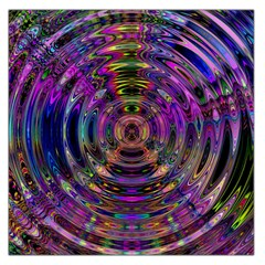 Color In The Round Large Satin Scarf (square) by BangZart