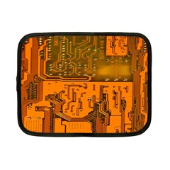 Circuit Board Pattern Netbook Case (small)  by BangZart