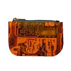 Circuit Board Pattern Mini Coin Purses
