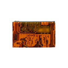 Circuit Board Pattern Cosmetic Bag (small)  by BangZart