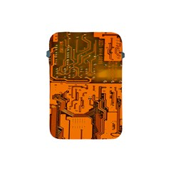 Circuit Board Pattern Apple Ipad Mini Protective Soft Cases by BangZart