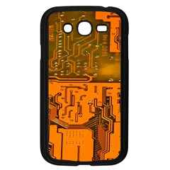 Circuit Board Pattern Samsung Galaxy Grand Duos I9082 Case (black) by BangZart