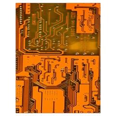 Circuit Board Pattern Drawstring Bag (large) by BangZart