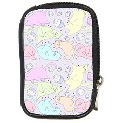 Cat Animal Pet Pattern Compact Camera Cases by BangZart