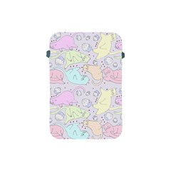 Cat Animal Pet Pattern Apple Ipad Mini Protective Soft Cases by BangZart