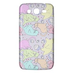 Cat Animal Pet Pattern Samsung Galaxy Mega 5 8 I9152 Hardshell Case  by BangZart