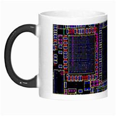 Cad Technology Circuit Board Layout Pattern Morph Mugs by BangZart