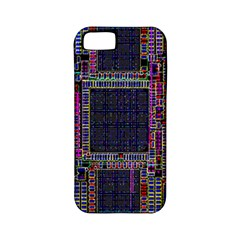 Cad Technology Circuit Board Layout Pattern Apple Iphone 5 Classic Hardshell Case (pc+silicone) by BangZart