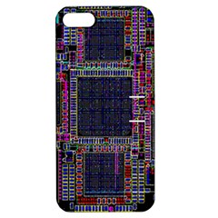 Cad Technology Circuit Board Layout Pattern Apple Iphone 5 Hardshell Case With Stand by BangZart