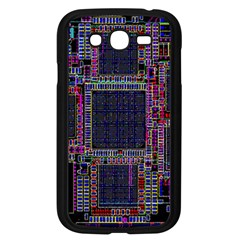 Cad Technology Circuit Board Layout Pattern Samsung Galaxy Grand Duos I9082 Case (black) by BangZart