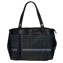 Building Pattern Office Handbags by BangZart