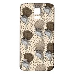 Bouffant Birds Samsung Galaxy S5 Back Case (white) by BangZart