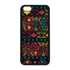 Bohemian Patterns Tribal Apple Iphone 5c Seamless Case (black) by BangZart