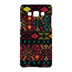 Bohemian Patterns Tribal Samsung Galaxy A5 Hardshell Case  by BangZart