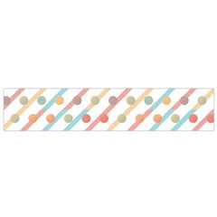 Simple Saturated Pattern Flano Scarf (small) by linceazul