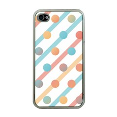 Simple Saturated Pattern Apple Iphone 4 Case (clear) by linceazul