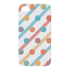 Simple Saturated Pattern Apple Iphone 4/4s Premium Hardshell Case by linceazul