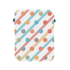Simple Saturated Pattern Apple Ipad 2/3/4 Protective Soft Cases by linceazul