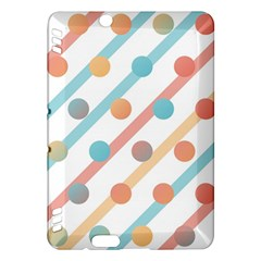 Simple Saturated Pattern Kindle Fire Hdx Hardshell Case by linceazul