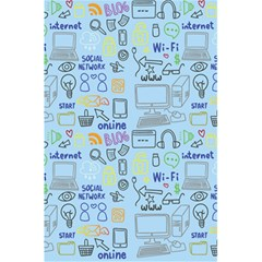 Tech Doodles Notebook by mygraphicfairydesigns