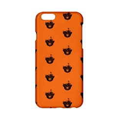Funny Halloween   Burned Skull Pattern Apple Iphone 6/6s Hardshell Case by MoreColorsinLife