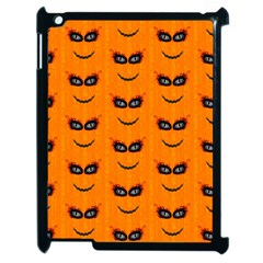 Funny Halloween   Face Pattern 2 Apple Ipad 2 Case (black) by MoreColorsinLife