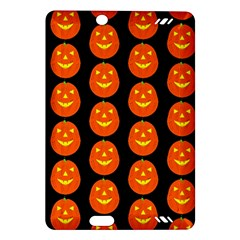 Funny Halloween   Pumpkin Pattern 2 Amazon Kindle Fire Hd (2013) Hardshell Case by MoreColorsinLife