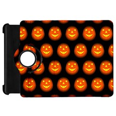 Funny Halloween   Pumpkin Pattern Kindle Fire Hd 7  by MoreColorsinLife