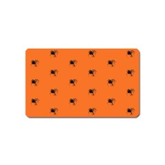 Funny Halloween   Spider Pattern Magnet (name Card) by MoreColorsinLife