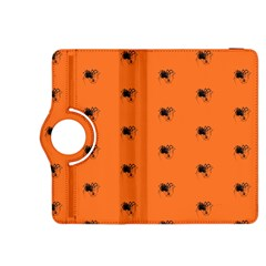Funny Halloween   Spider Pattern Kindle Fire Hdx 8 9  Flip 360 Case by MoreColorsinLife