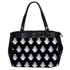 Funny Halloween   Ghost Pattern Office Handbags by MoreColorsinLife