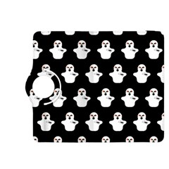 Funny Halloween   Ghost Pattern Kindle Fire Hdx 8 9  Flip 360 Case by MoreColorsinLife