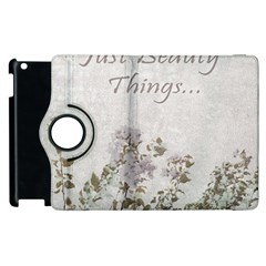 Shabby Chic Style Motivational Quote Apple Ipad 3/4 Flip 360 Case by dflcprints