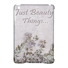 Shabby Chic Style Motivational Quote Apple Ipad Mini Hardshell Case (compatible With Smart Cover) by dflcprints