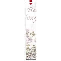 Shabby Chic Style Motivational Quote Large Book Marks by dflcprints