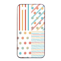 Simple Saturated Pattern Apple Iphone 4/4s Seamless Case (black) by linceazul